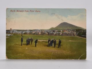 North Berwick from Point Garry 18578. Postcard