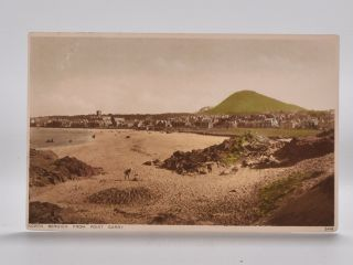 North Berwick from Point Garry 2448. Postcard
