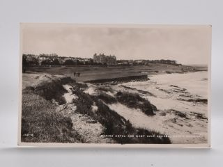 Marine Hotel and West Golf Course, North Berwick 1581. Postcard