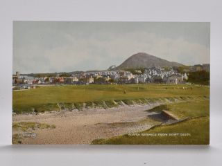 North Berwick from Point Garry 87362. Postcard