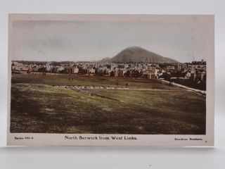 North Berwick from West Links 523-4. Postcard