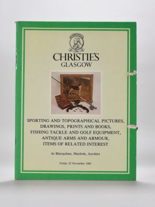 Christies Golf Memorabilia 1983. Christies