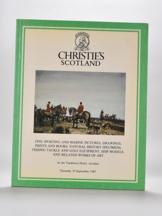 Christies Golf Memorabilia 1985. Christies