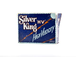Golf Ball Box. Silver King