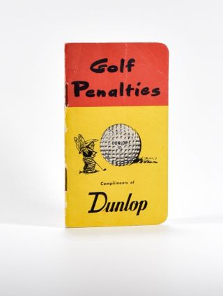 Golf Penalties. Dunlop