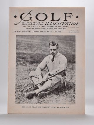 Golf Illustrated February 1936. Golf Illustrated.