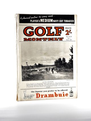 "Golf Monthly Volume 47 No. 3 March 1957. Golf Monthly ""Magazine"""