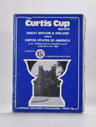 Curtis Cup. Ladies Golf Union