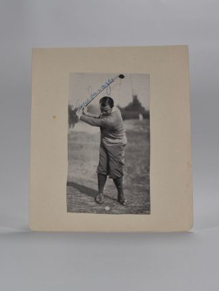 Signed Photograph. Gene Sarazen