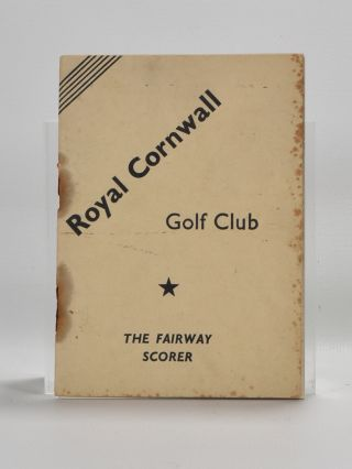 Fairway Scorer Royal Cornwall
