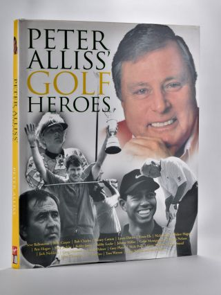 Peter Allis Golf Heroes. Peter Alliss.