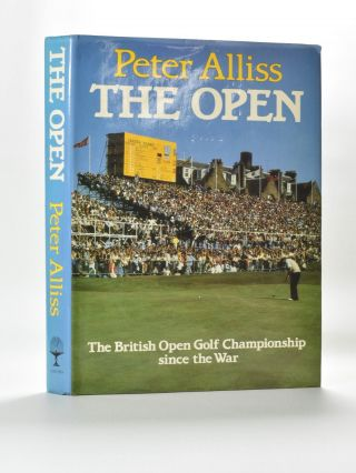 The Open. Peter Alliss.