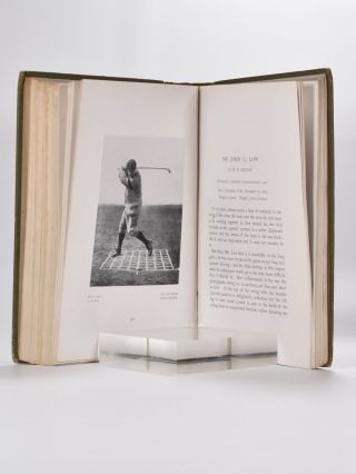 Great Golfers Their Methods at a Glance.