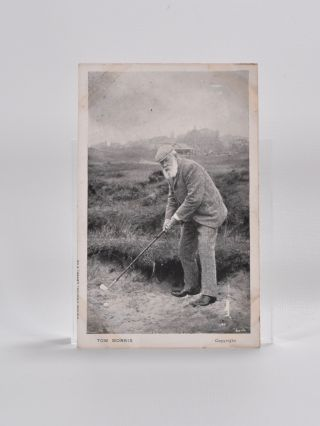 Tom Morris Photograph. Postcard