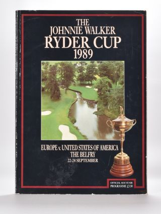 Ryder Cup 1989 Official Programme. P G. A