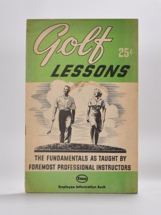 Golf lessons. National Golf Foundation, Herb Graffis