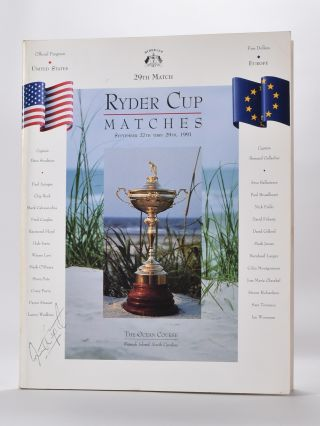 Ryder Cup 1991 Official Programme. P G. A.