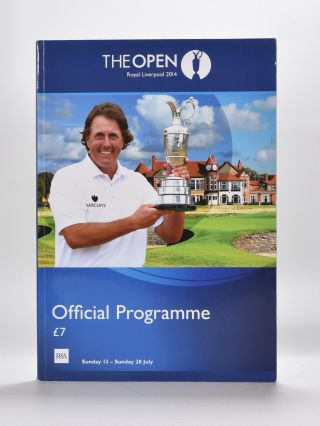 The Open Championship 2014. Official Programme. The Royal, Ancient Golf Club of St. Andrews