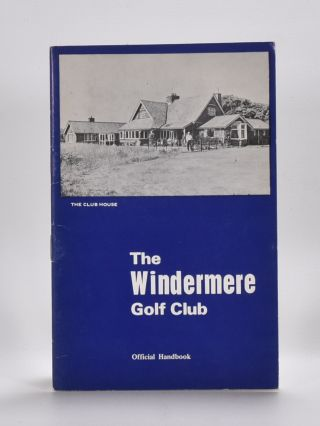 Windermere Golf Club. Handbook, Tom Scott