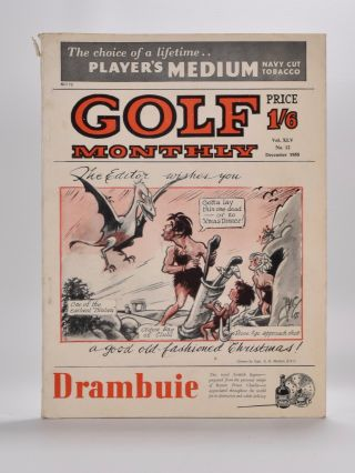 "Golf Monthly Volume 45 No. 1 January 1955 to No. 12 December 1955. Golf Monthly ""Magazine"""