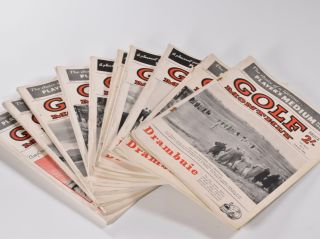 "Golf Monthly Volume 46 No. 1 January 1956 10 issues. Golf Monthly ""Magazine"""