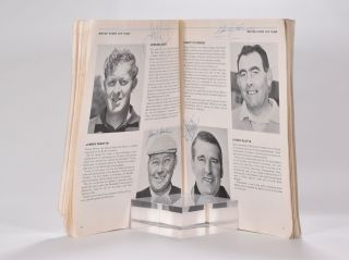 Ryder Cup 1965 Official Programme.