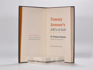 Tommy Armour´s ABC´s of Golf.