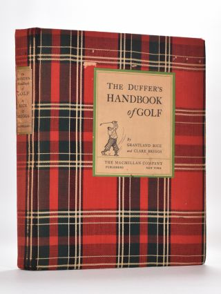 The Duffers Handbook of Golf. Grantland Rice, Clare Briggs.
