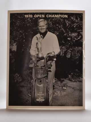 Jack Nicklaus. Photograph