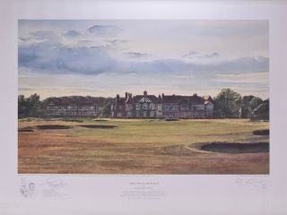 "The Final Hurdle ""Royal Lytham & St. Annes"" Kenneth Reed"
