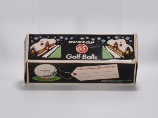 Dunlop Golf Balls in Christmas sleeve