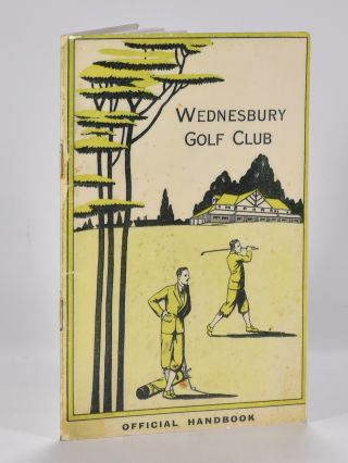 Wednesbury golf club OFFICIAL HANDBOOK