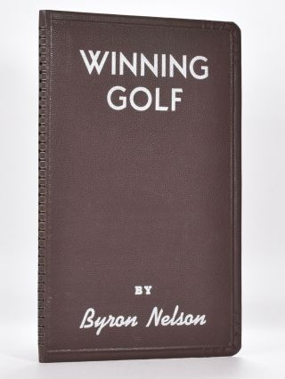 Winning Golf. Byron Nelson