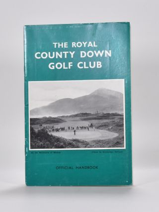 Royal County Down Golf Club. A. C. Handbook: Jones