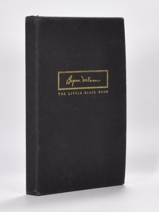 The Little Black Book. Byron Nelson.