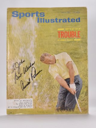 "Palmer. Arnold ""Sports Illustrated"" cover Palmer"
