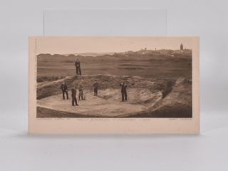 """Hell"" Bunker, Old Course Links, St. Andrews. Postcard."