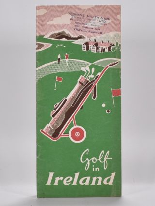 Golf in Ireland. Henry Longhurst