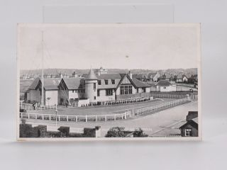 Golf Club House Troon Municipal. Postcard