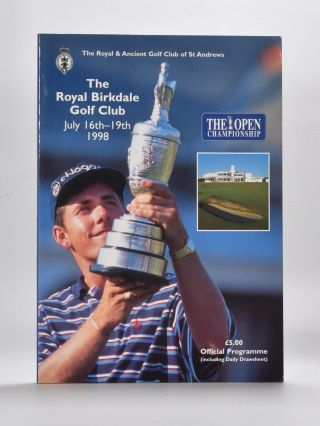 The Open Championship 1998. Official Programme. The Royal, Ancient Golf Club of St. Andrews