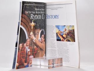 Ryder Cup 2002 Official Programme.