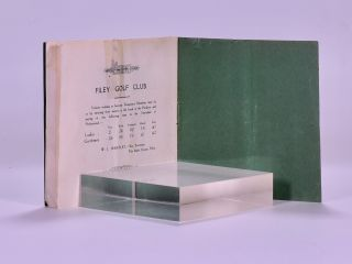 Golf at Filey with Six Views of the Golf Course (Handbook)
