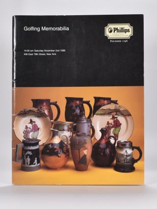 Phillips Golfing Memorabilia 1996 November 2nd. Phillips