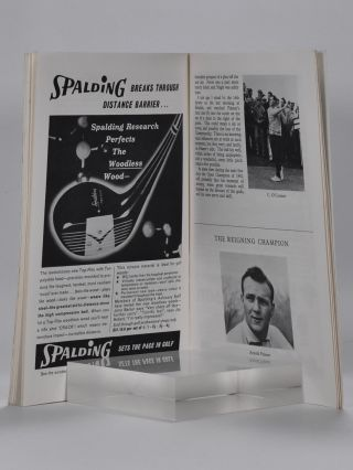 The Open Championship 1962. Official Programme.