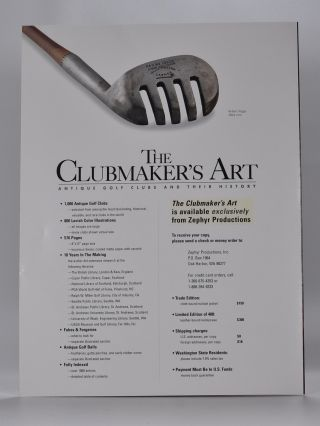 The Clubmaker´s Art.