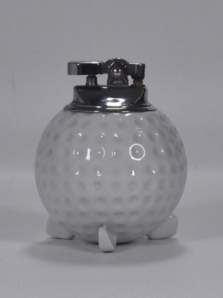 Golf Ball ciggarette lighter ca. 1940
