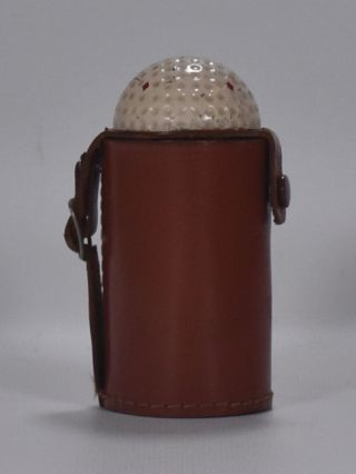 Golf Ball cup holder case ca. 1930