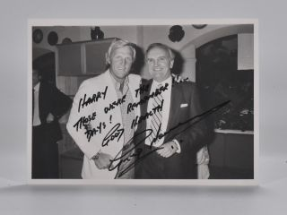 Photograph Signed. Greg Norman