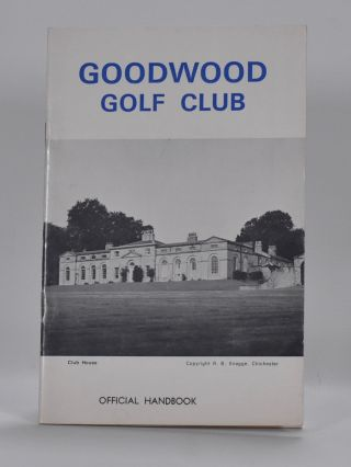 Goodwood Golf Club. Handbook.