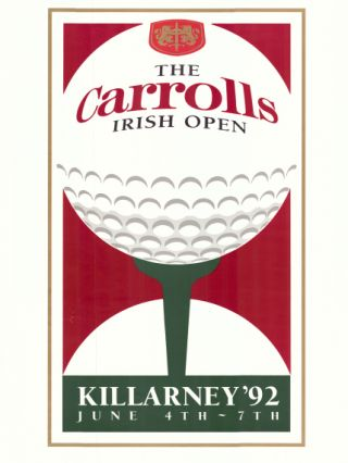 Irish Open 1992. Poster